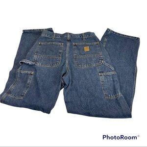 EUC Carhartt Dungaree Fit Jeans Size 32x32 Mens